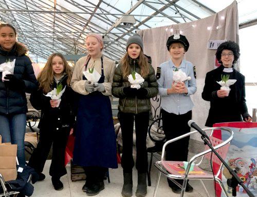 Julspel på Handelsträdgårdens Julmarknad